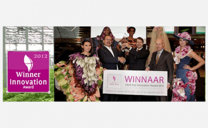 Air Monitoring Gewinner des Horti Fair Innovation Award 2012