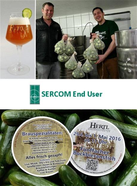 Cucumber beer