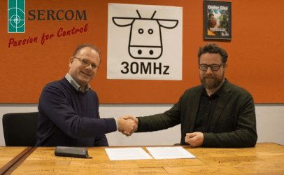 SERCOM and 30MHz Partnering Up – press release