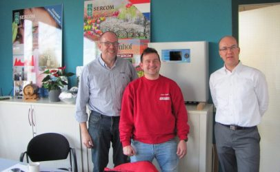 Dealer GRIMME visiting SERCOM